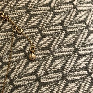 Chloe + Isabel Jewelry - Chloe and Isabel pave gold bar necklace popsugar